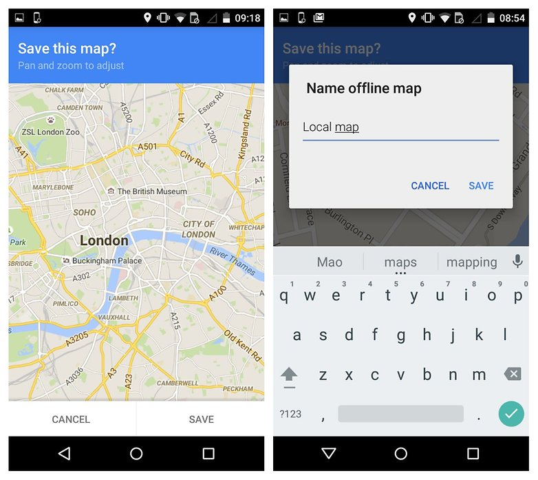 Android-google-maps-app development