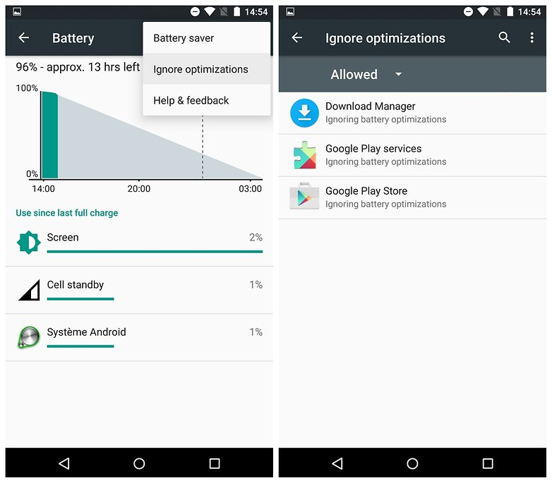 Android-M-preview-ignore-battery-optimizations